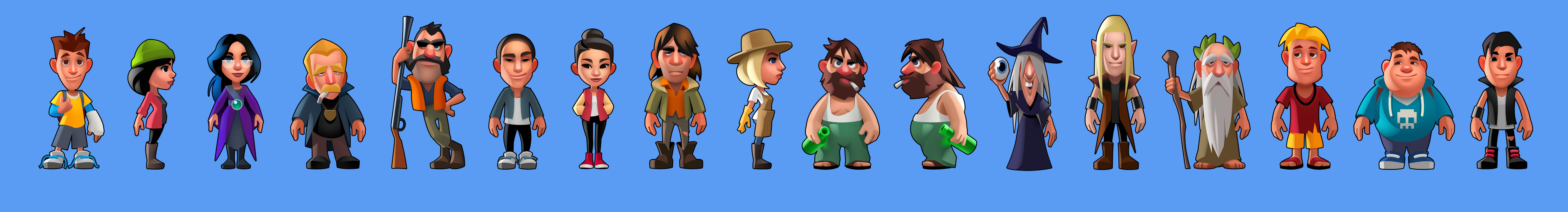 seaport-characters